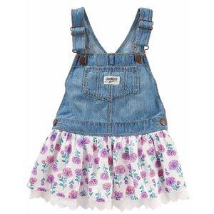 c00b81bdf NWT OshKosh B'gosh Girls Overall Dress (3M)
